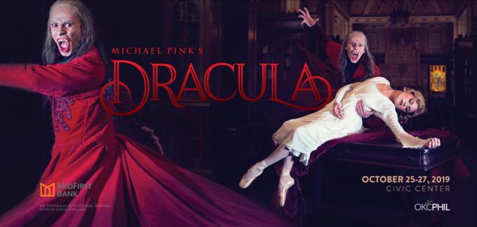 Oklahoma City Ballet: Michael Pink's Dracula at Thelma Gaylord Performing Arts Theatre