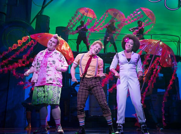 SpongeBob - The Musical at Thelma Gaylord Performing Arts Theatre
