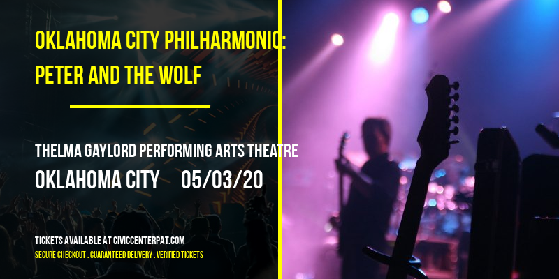 Oklahoma City Philharmonic: Peter and The Wolf at Thelma Gaylord Performing Arts Theatre